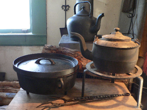 Iron, Cast and Forged