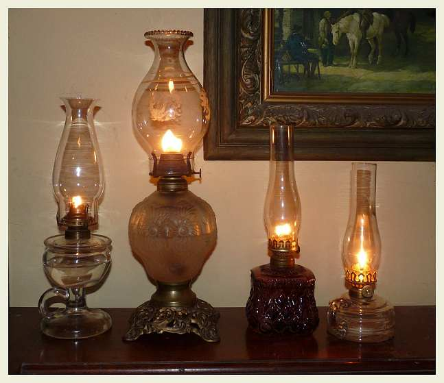 Exceptional *I Have Selected Lamps That I Find Pleasing And That I Think Go With An Old  Farm House Such As My Own. These Were Not Selected Because They Are Rare Or  In ...